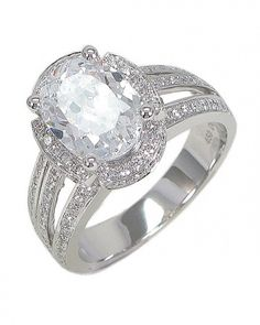 Chad Allison Oval Engagement Ring