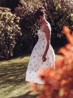 The H&M Wildflower Collection and other high street favourite budget spring dresses Spring Dresses, Dress Collection, Wild Flowers, 50th, Strapless Dress, My Style, How To Wear, Budget, Cook