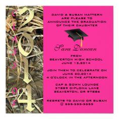 Camo Classic Elegant 2017 Graduation Invitation camo graduation