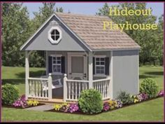 Childrens Playhouse Plans 300685712625281022 - Source by alexitacortez Outside Playhouse, Girls Playhouse, Childrens Playhouse, Backyard Playhouse, Build A Playhouse, Wooden Playhouse, Playhouse Interior, Playhouse Ideas, Playhouse Decor