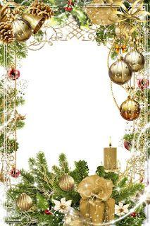 GIFY I OBRAZKI: RAMKI RÓŻNE Christmas Frames, Christmas Paper, Christmas Pictures, Christmas Greetings, Christmas And New Year, Vintage Christmas, Christmas Time, Envelopes Decorados, Free Christmas Borders