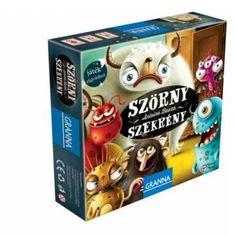 Szörnyszekrény  - kooperációs társasjáték 3 - 8 éves korig - Granna - Egyszerbolt - Kooperatív játékok tipp