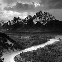 #25 || Ansel Adams made the Snake River Outlook one of the most popular places to photograph the Tetons. Have you taken your Teton Range photo from this locale?