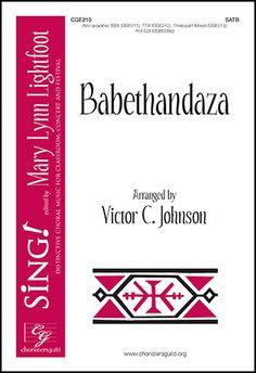 Swahili; a cappella; level ME; available SATB, SSA, Three-part mixed; percussive instruments