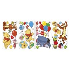 Roommates Winnie the Pooh Wall Decals : Target Mobile