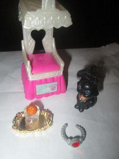 Vintage Littlest Pet Shop 1994 Sparkling Pets Royal Bombay Kitty  #Kenner