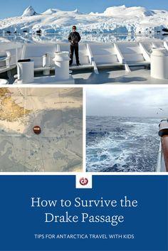 Antarctica with Kids: Drake Passage Survival Tips Survival Weapons, Survival Tips, Survival Skills, Survival Quotes, Survival Food, Wilderness Survival, Travel With Kids, Family Travel, Family Vacations