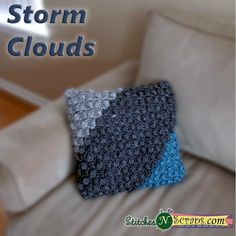 Free Pattern - Storm Clouds