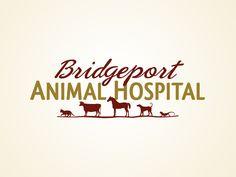 Veterinary logo design by http://www.beyondindigopets.com: Bridgeport Animal Hospital