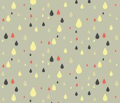 krople fabric by ravynka on Spoonflower - custom fabric