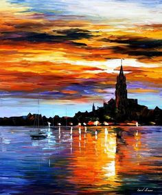 The Sky Of Spain by Leonid Afremov