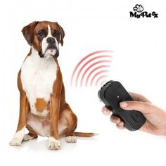 My Pet Trainer Ultrasound Remote for Training Pets If you want to train your pet, the My Pet Trainer ultrasound remote for training pets will be useful for you! Button for turning ultrasounds on Works with 1 battery of 9 V (not included) Approx. Dressage, Pet Trainer, Led Dog Collar, Dog Sounds, Pet Bag, Pet Feeder, Love Your Pet, Pet Collars, Dog Leash