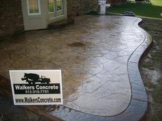 stamped concrete patio | Concrete LLC - Concrete Projects CincinnatiStamped Concrete Patios ...