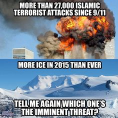 ClimateGate, Hockey stick graph fraud, eliminating the Little Ice Age and trying to delete from history the Medieval Warming Period all to support Global Warming. Terrorism doesn't have to be 'made up', it exists and thrives under President Obama's 'Leading from Behind' agenda.