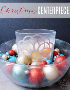 DIY:: Simple Christmas Centerpiece