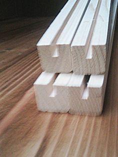 溝つき角材 4mm溝