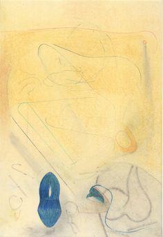 - new work - Untitled, chalks, graphite and pencils, 20,5 x 29,5 cm / 8,1 x 11,6 in (2021). Liebe läßt sich suchen, finden, Niemals lernen, oder lehren. (Ludwig Tieck Ludwig, Art, Studying, Love, Art Background, Kunst, Performing Arts, Art Education Resources, Artworks
