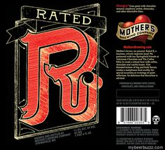 mybeerbuzz.com - Bringing Good Beers & Good People Together...: Mother's Brewing - Rated RImperial STout