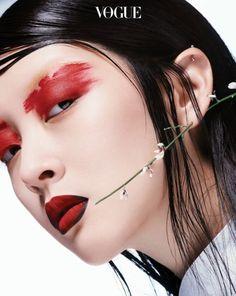 Sera Park, Kang So Young by Ahn Joo Young for Vogue Korea April 2017