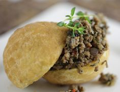 Deep fried dough and mince- delish! South African Recipes, Ethnic Recipes, Stuff To Do, Things To Do, South African Weddings, Burger Recipes, Finger Foods, Food Styling, Fun Activities