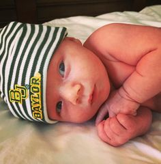 Adorable Baylor baby! #FutureBear