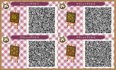 """newleaf-fashion: """" These paths will definitely give your town a rustic look! """""""