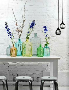 Kulunka Deco Blog: Decorar con botellas