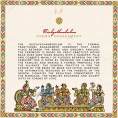 Sample Wedding Invite For Tamil Iyengar Front A