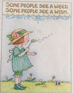 Some People-Handmade Fridge Magnet-Mary Engelbreit Artwork