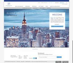 Refresh web/app design on Behance