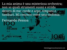 Cartolina con aforisma di Fernando Pessoa (0)