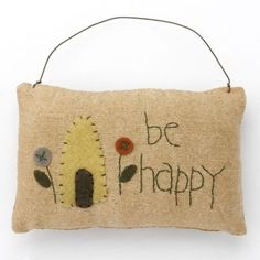 "AP7217 Happy mini pillow   5"" W x 3 1/2"" T     $ 2.25"