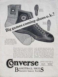The Converse All-Star Was First Introduced in 1917 - 50 Things You Didn't Know About Converse Chuck Taylor All Stars   Complex