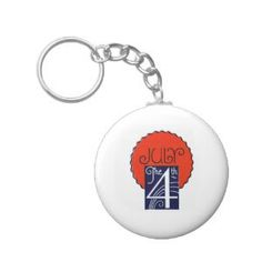"""Retro 4th July independence day Keychains (<em data-recalc-dims=""""1"""">$3.85</em>)"""