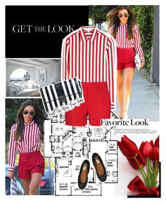 """""""Get the Look : Naya Rivera"""" by mariananogueirabr ❤ liked on Polyvore featuring Marc Jacobs, Holmes & Yang, Lanvin, celebrity look, glee, get the look and naya rivera"""