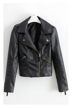 New Leather Punk Jacket All Sizes - $77.00