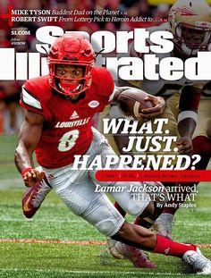Conway J New University of Louisville Football Print Jackson the heisman 2016