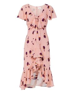Cinq À Sept Mateo Silk Floral-Print Dress Silk Floral Dress, Paisley Dress, Floral Dresses, Pink Dress, Green Dress, Animal Print Summer Dresses, Day Dresses, Flower Girl Dresses, Floral Dress Design