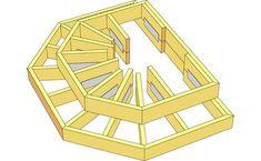 Här beskriver Martin Timell hur du snickrar en entrétrapp me Patio Stairs, Deck Steps, Deck Pictures, Front Deck, Front Porch, Classic Garden, House Deck, Diy Deck, Decks And Porches