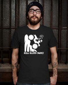 HILL CLAMB DUDE TShirt Mens Design T Shirt for Men by Bluemripat, $16.98