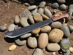 OK6520: Bushcraft Machete Walnut Handle. The Ontario Knives Bushcraft Machete is a rugged and durable machete. OKC has over a 100 years experience in knife design and manufacture and they designed the Bushcraft Machete for performing the larger tasks when your fixed blade knife just doesn't cut it. http://www.osograndeknives.com/catalog/knives/ontario-bushcraft-machete-16.0-inch-5160-carbon-blade-walnut-wood-handle-nylon-sheath-6520-25766.html