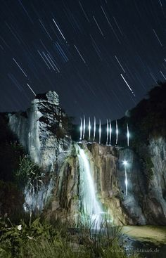 Light Painting - Quinninup Falls, Leeuwin-Naturaliste National Park, Western Australia - Lightmark - Quinninup Falls is a very beautiful and peaceful.