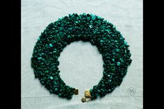 Necklace malachite! Made in imagination  Mail: olgavivtso@mail.ru 100$