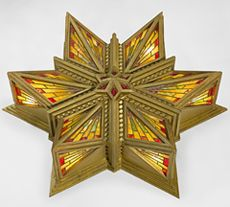 Ceiling light, Capitol Theatre, Melbourne, 1921–24 designed by Walter Burley Griffin and Marion Mahoney Griffin   Capitol Theatre, RMIT University, Melbourne