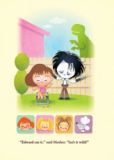 Jerrod Maruyama's piece for Edward Scissorhands 20th anniversary show
