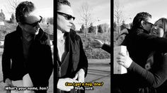 """Tom & Fans PARDON ME BUT HE SAID """"Hun""""!!!!!! THE SOUTHERN PART OF ME HAS EXPLODED OF SWEETNESS"""