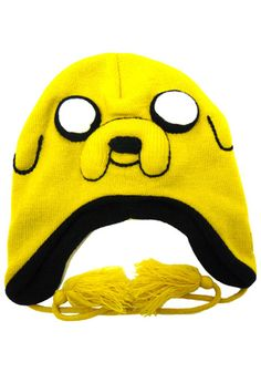 Adventure Time Jake Hat! I want this.