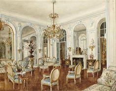 Alexander Serebryakov 'Hotel Rodocanachi. Blue Salon'