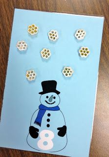 Counting with Snowmen and Noodles!