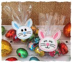Bunny Treat Bag Topper (in the hoop)